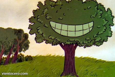 árbol devorador de cometas